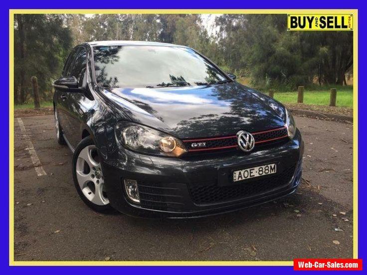 2010 Volkswagen Golf VI GTi Charcoal Automatic A Hatchback #vwvolkswagen #golf #forsale #australia