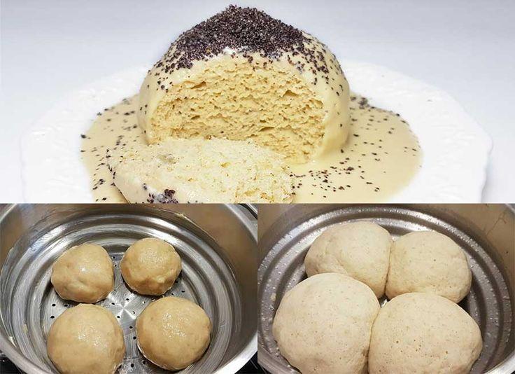 Rezept Germknödel & Dampfnudeln low-carb glutenfrei keto paleo – Die ultimative Anleitung zum Dämpfen