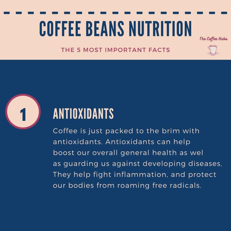 5 facts about coffee beans nutrition coffee facts beans
