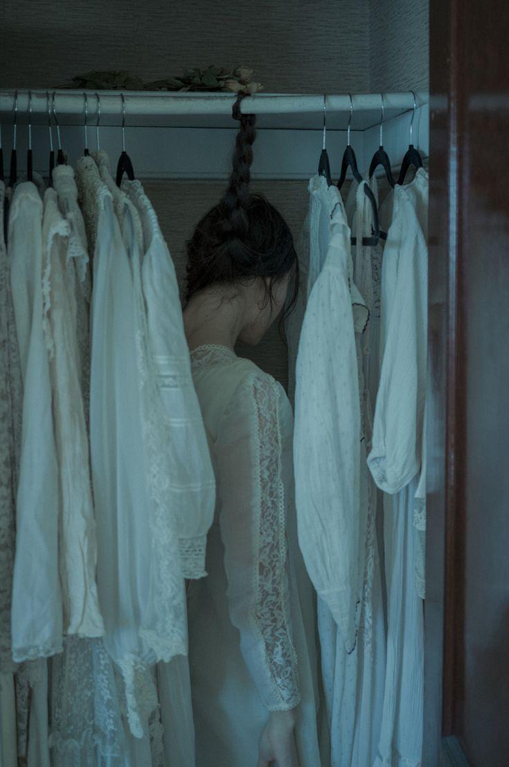 """Garden of Ghosts"" — Photographer/Model: Crystal Lee Lucas"