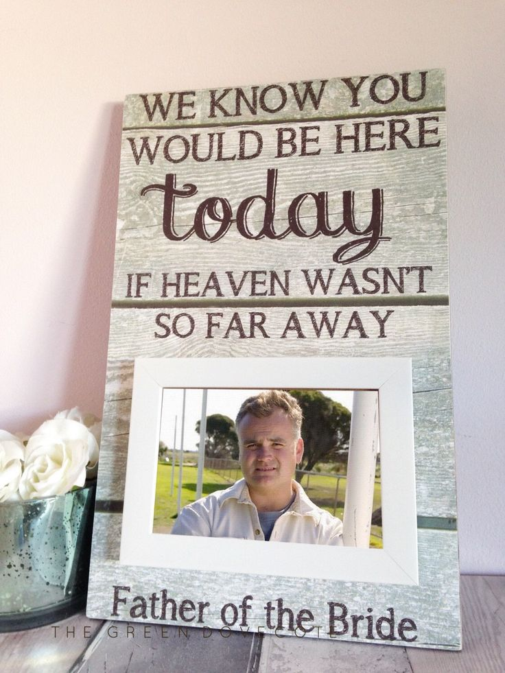 Memorial Heaven , We Know You Would Be Here Today If Heaven Wasn't So Far Away , Wedding Sign , Memorial Plaque , Heaven Plaque by TheGreenDovecote on Etsy https://www.etsy.com/listing/241038062/memorial-heaven-we-know-you-would-be