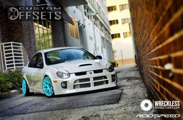 9 6 2005 neon dodge srt 4 4dr sedan 24l 4cyl turbo 5m dropped 3 xxr 530 flush