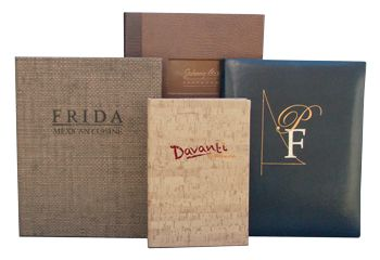 Fine Dining Menu Covers for Up-Scale Restaurants  Elegant and theme inspired menu covers begin the presentation of your food service and the creative recipes your chef has prepared, all leading to more profitable sales. http://menu-covers.org/fine-dining-menu-covers/