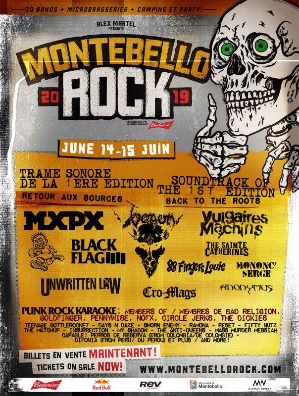 Montebello Rockfest 2019 American Festivals Rock Festivals Montebello