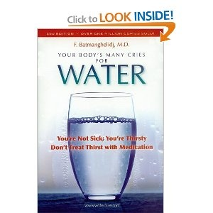 """Your Body's Many Cries for Water; You're Not Sick; You're Thirsty; Don't Treat Thirst with Medication""  Within certain limits, I think this book makes a very good point.  Not the answer to everything, but a good reminder to drink more water."