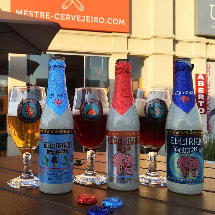 Delirium Tremens, Delirium Red e Delirium Nocturnum – Episódio 177 #cerveja #degustacao #beer #tasting