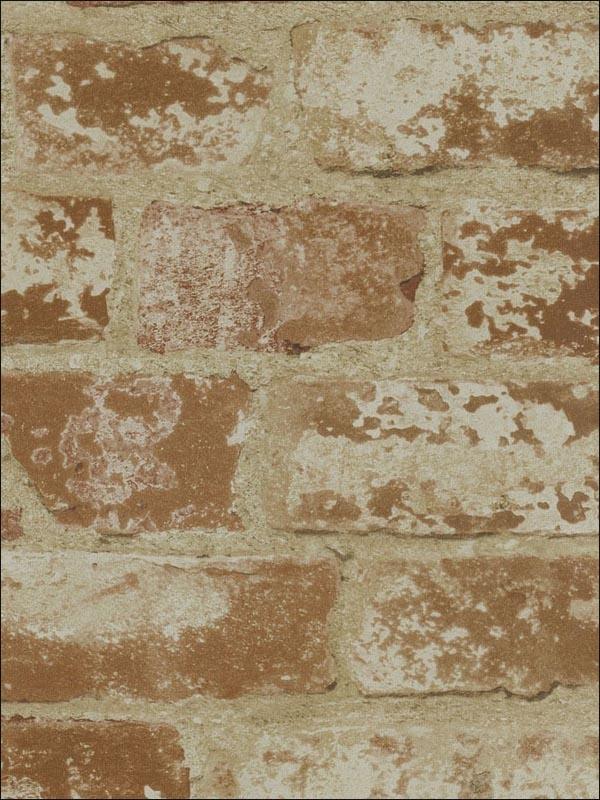 Cypress Home Decor Sells Faux Brick Wallpaper That Looks
