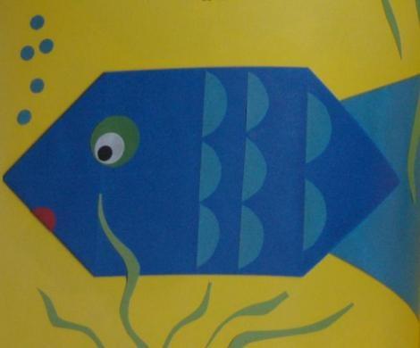 Zin om te vouwen met je kinderen? Deze vis en nog veel meer komt uit Het megagrote vouwboek.