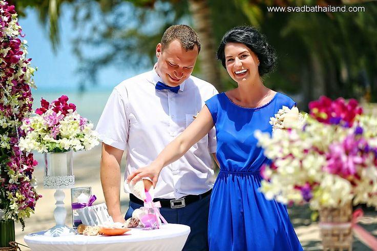 Свадебная церемония в Тайланде на пляже
