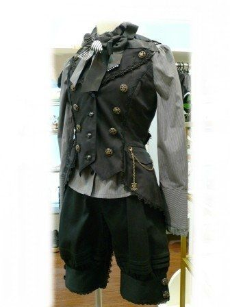 Grey and black go so well together, and asymmetry between the front and the back is very stylish