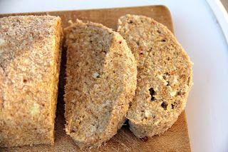 Gitta nyersétel blogja: Nyers lenmag-kenyér