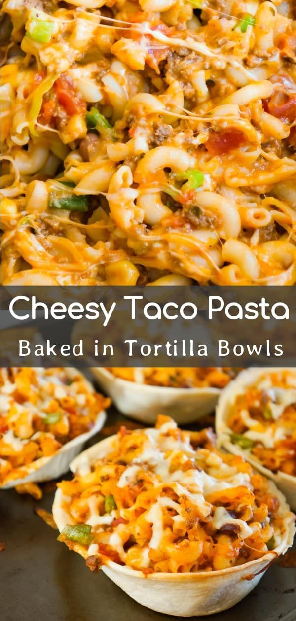 Taco Pasta Is An Easy Ground Beef Dinner Recipe That Is Fun And