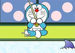 Juegos Gratis - Juego: Pescador Doraemon - Jugar Juegos Online Infantiles para Niños
