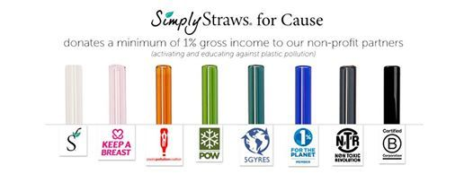 #givingtuesday #strawsforcause Keep A Breast Foundation Plastic Pollution Coalition 5 Gyres 1% for the Planet B CorporationProtect Our WintersKeep A Breast Non Toxic Revolution