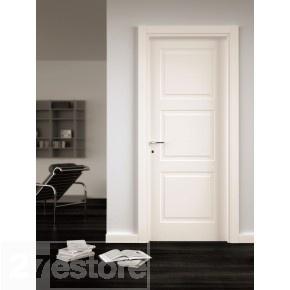 Faux 3 panel door for interior doors in house.