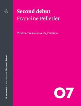 [...] Avec cet état des lieux du féminisme actuel, Francine Pelletier offre une réflexion inédite, vive et sincère sur ce que ça veut vraiment dire, être une femme dans le Québec d'aujourd'hui.Et si le féminisme était mûr pour un second début? [Renaud-Bray]