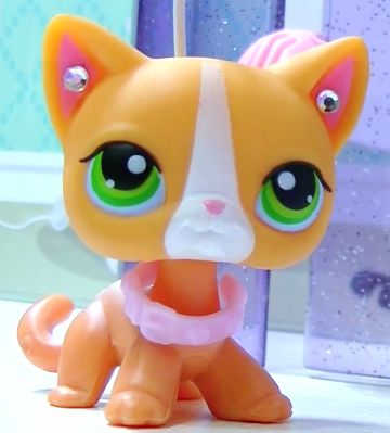 I love this cat!!!!! She is also from Lps popular