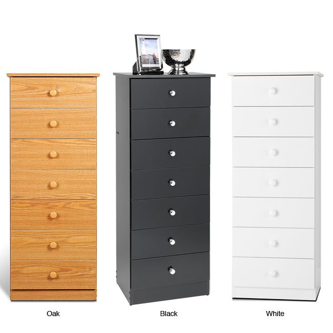 Get Big Storage Without The Floor Space With A 7 Drawer Tall Chest This