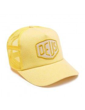 DEUS Trucker pet Foxtrot Shield - yellow