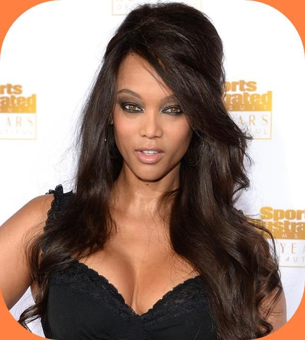 Tyra Banks Ponytail Hairstyles: Tyra Banks Hairstyles Side Bangs And Thick Hair