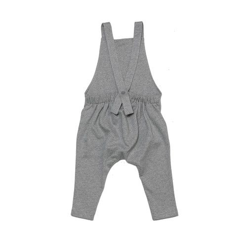 Gray Label Salopettes – Grey Melange.  Super soft grey salopettes with button detail at the back. £38.50 + Free P&P