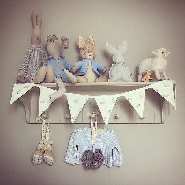 Thank You To Our Lovely Customer Pamela For Sharing This Gorgeous Pic Bunny Bunting In Her Little Boys Nursery
