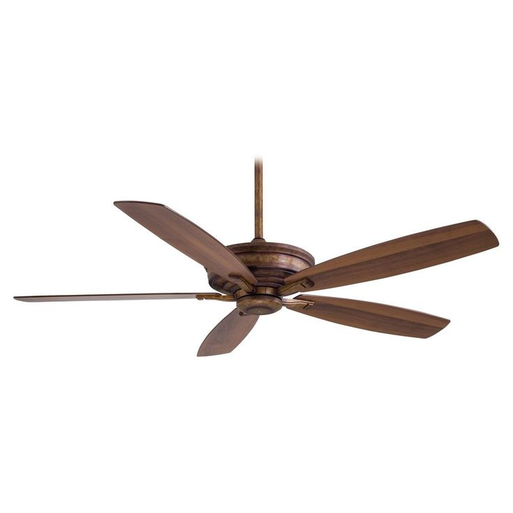 Minka Aire Fans Ceiling Fan Without Light in Vineyard Patina Finish F696-VP