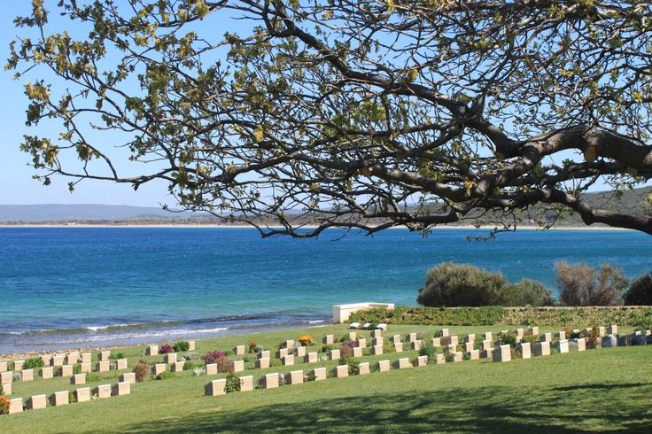 Anzac Cove , Gallipoli, Turkey