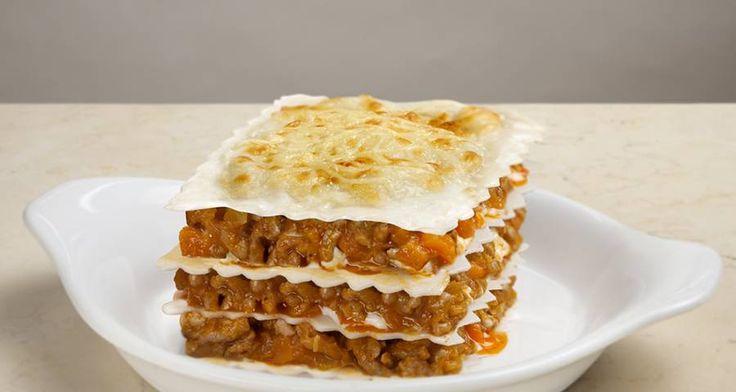 receta de lasaña boloñesa