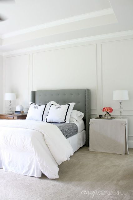 25 best ideas about picture frame molding on pinterest. Black Bedroom Furniture Sets. Home Design Ideas