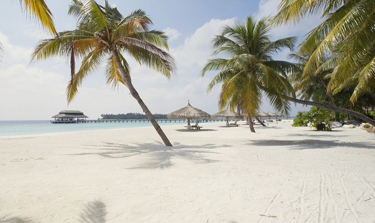 Caroline & Clare On Tour: First stop, the beautiful beach at Kihaad Maldives... will they get to snorkel with mantas??