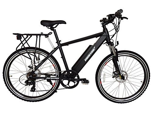 NEW 2016 Rubicon 36 Volt Lithium Powered Electric Mountain Bicycle (Black)