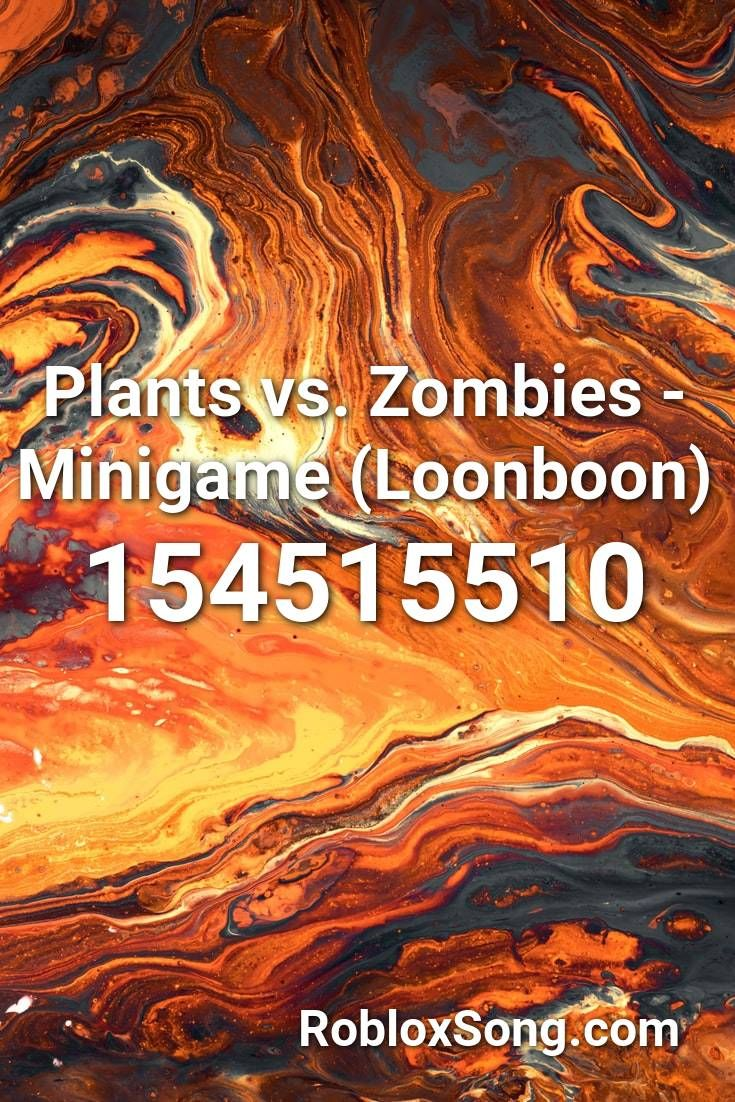 Roblox Plantas Vs Zumbis Roblox Plants Vs Zombies Plants Vs Zombies Minigame Loonboon Roblox Id Roblox Music Codes In 2020 Roblox Roblox Roblox You Better Stop