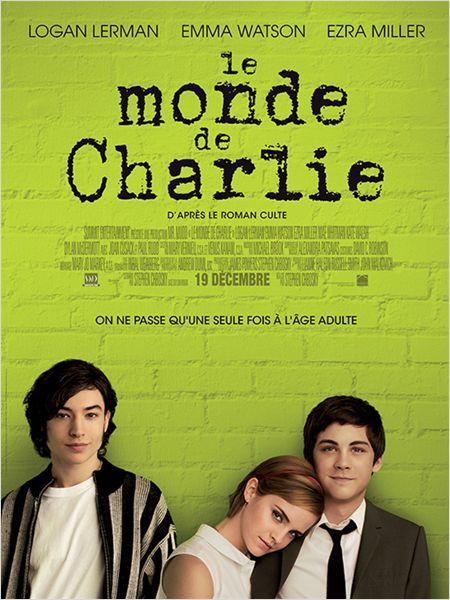 Le Monde de Charlie : super touchant, super acteurs, drôle et inattendu, j'ai aimé, vous l'aurez compris ^^