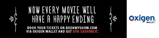 Movie ticket offers 2015 : 50% Cashback on Movies Ticket From Bookmyshow - Best Online Offer