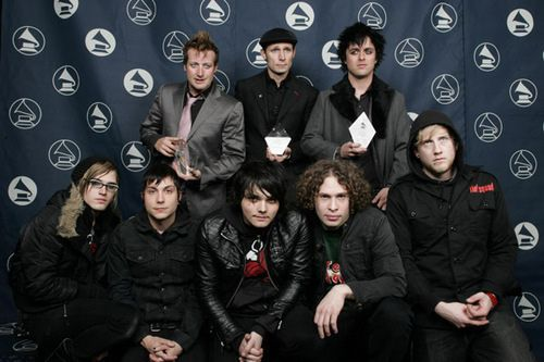 My Chemical Romance and Green Day. I'd pay a LOT of money to see Billie and Frank crashing into each other.