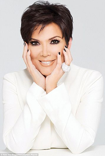 Outstanding 1000 Ideas About Kris Jenner Haircut On Pinterest Kris Jenner Short Hairstyles Gunalazisus