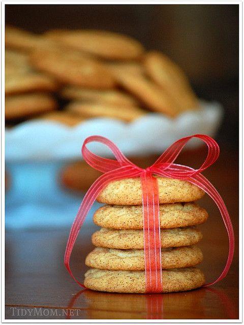 snickerdoodle cookies at TidyMom.net: Perfect Snickerdoodles, Snickerdoodles Recipes, Snickerdoodles Cookies, Cookies Recipes, Snickers Doodles, Crisp Edge, Cookie Recipes, Christmas Sweet, Christmas Cookies Exchange