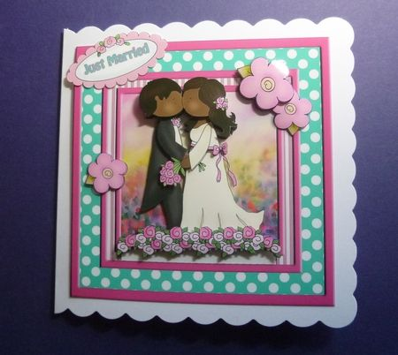Just Married Three on Craftsuprint - View Now!