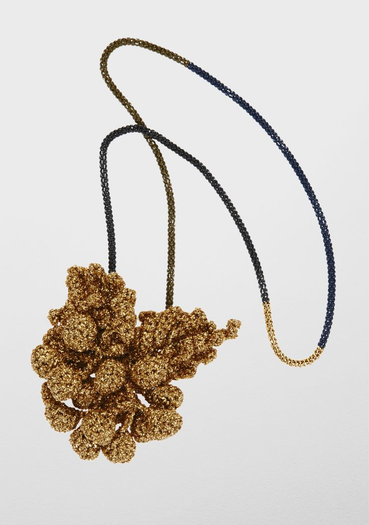Lucy Folk presents FEAST - NH: Fall 12 / SH: Spring/Summer 12 - GOLDEN GRAPEVINE NECKLACE