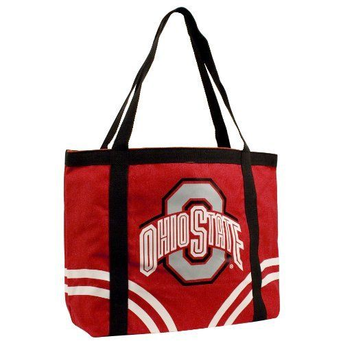 NCAA Ohio State University-Buckeye Canvas Tailgate Tote by Pro-FAN-ity by Littlearth. Save 37 Off!. $18.62