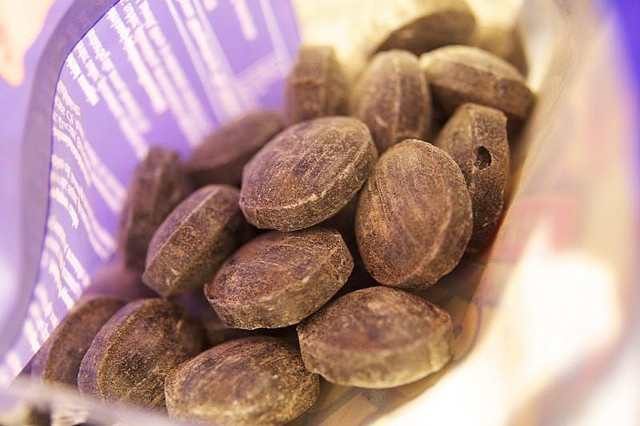 Tyrkisk Peper - Finland:  Hard boiled sweet made with salty liquorice and anise oil and filled with salmiakki powder.  It comes in many flavors, the most popular being hot and sour.