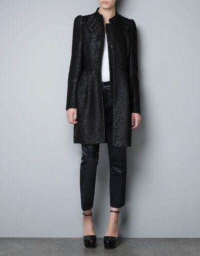LOVE this Jacquard coat