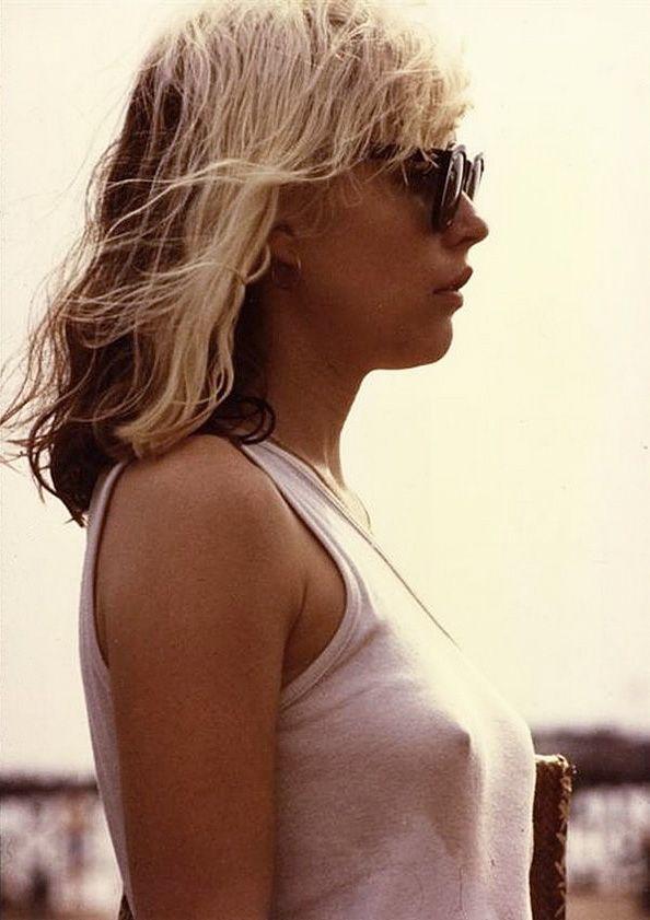 """Deborah Harry of the band """"Blondie"""" (ca. 1972)"""