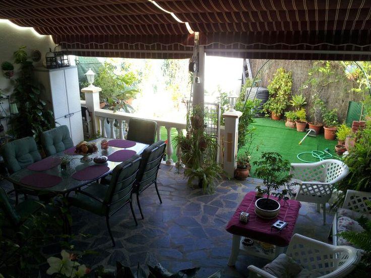 Porche y jard n venta adosado pinterest for Valsain porche y jardin
