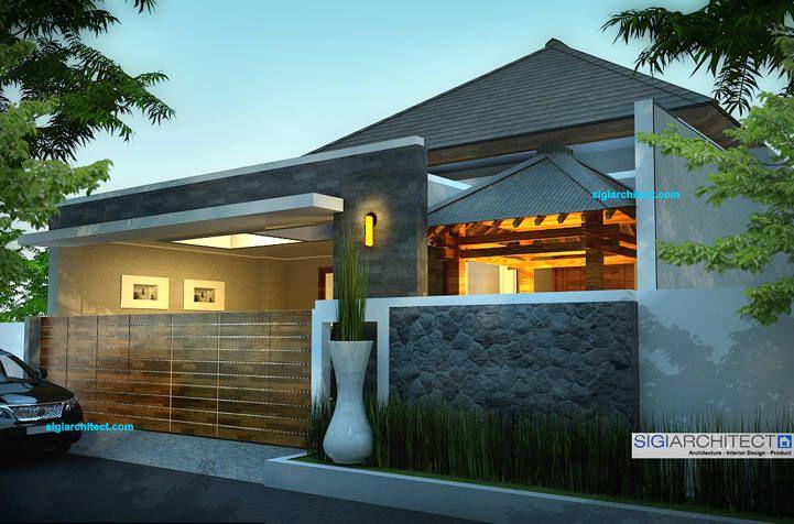 rumah modern minimalis_fasade 2