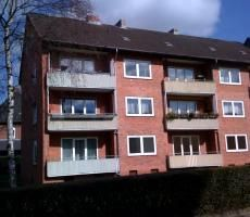 2 Zimmer mit Balkon+Vollbad in der Hagener Str.   WBG Kiel-Ost eG