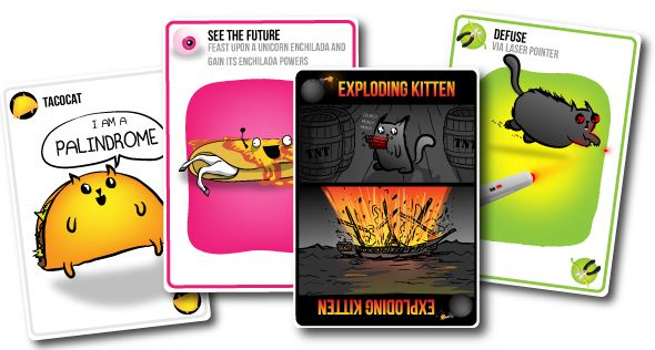 Exploding Kittens - A card game for people who are into kittens and explosions and laser beams and sometimes goats