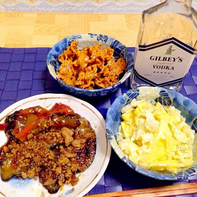 パイナップル&キャベツのサラダに白だしを - 39件のもぐもぐ - パイナップル&キャベツのサラダ・茄子とピーマンの照り焼き・豚肉の練り胡麻&特製ラー油和え by Tarou  Masayuki
