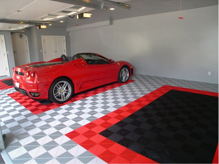 Modern Garage Rubber Flooring Ideas - http://silvanaus.com/modern-